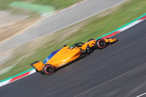 Fernando Alonso during Formula One Winter Testing