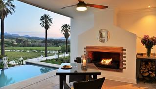 Presidential Suite veranda, Val du Charron, Western Cape