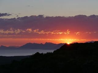 Grootbos  sunset