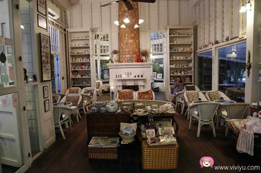 [清萊美食]Chivit Thamma Da Coffee House.清萊最美的餐廳~倇如置身在歐洲.河畔夜光閃閃 @VIVIYU小世界