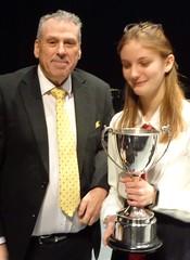 Best Instrumentalist - Charlotte Barton - Shepway Academy