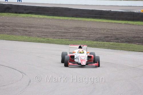Manuel Maldonado in British F3 pre-season testing 2018