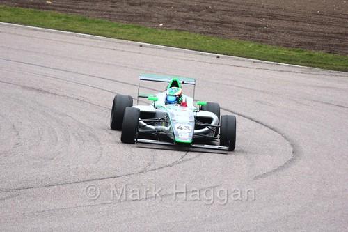 Josh Skelton in British F4 pre-season testing 2018