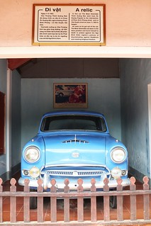 car that took the monk Thich Quang Duc to Saigon