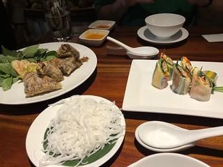 A la carte vegetarian - Hum, Ho Chi Minh City