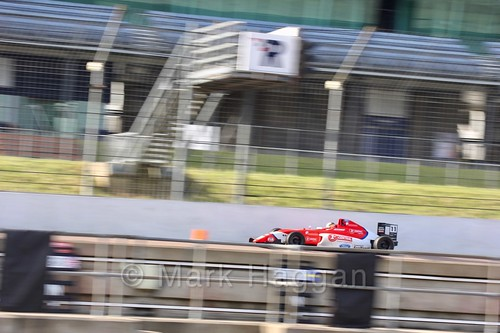 Seb Priaulx in British F4 pre-season testing 2018