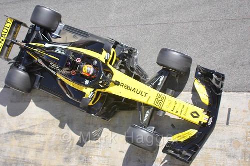 Carlos Sainz Jr during Formula One Winter Testing 2018