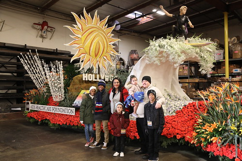 2019 Rose Parade Float Judging