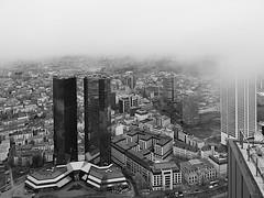 Frankfurt Deutsch Bank Twin Towers
