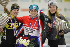 "2019-NK-podium Irene Schouten • <a style=""font-size:0.8em;"" href=""http://www.flickr.com/photos/89121513@N04/32707529258/"" target=""_blank"">View on Flickr</a>"