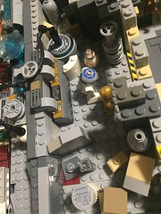Detailed photos of interior of UCS Millennium Falcon