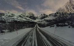 Street towards Nusfjord