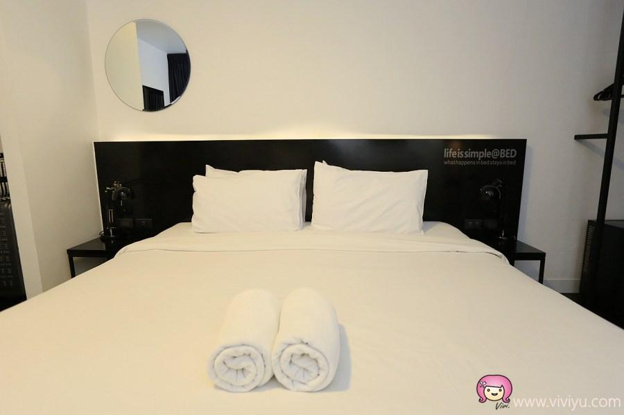 BED Nimman,bed nimman hotel,kuakai nimman,เบด นิมมาน,尼曼區,尼曼區住宿,成人入住,泰國住宿,泳池飯店,清邁住宿 @VIVIYU小世界