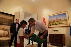Saludos al Presidente