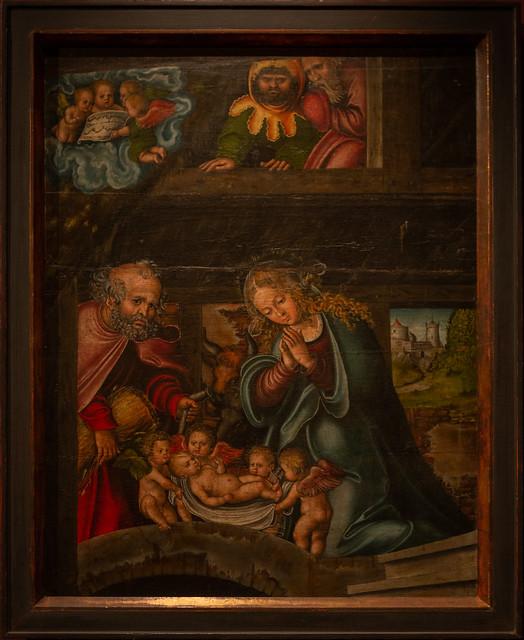 Geburt Christi, Lucas Cranach d. Ä. um 1520