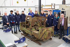 """Simplex loco 40s402 at North Linsey College • <a style=""""font-size:0.8em;"""" href=""""http://www.flickr.com/photos/124804883@N07/31391290937/"""" target=""""_blank"""">View on Flickr</a>"""