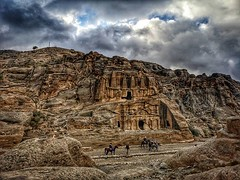 Tomb of the obelisks at Petra