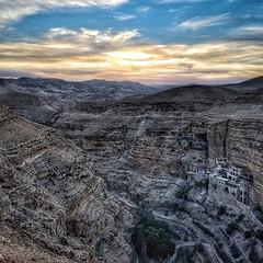 Sunset at Wadi Qelt