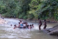 Aquafan in the river