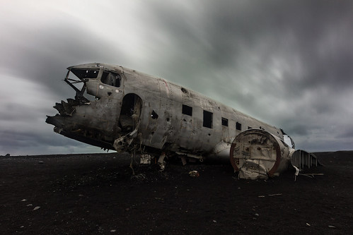 Plane Wreck in Iceland