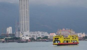 Bangunan Komtar dan Feri Pulau Pinang
