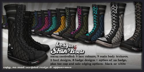 *League* Shin Boots
