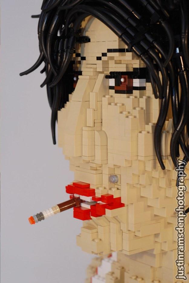 LEGO Amy Winehouse (Close-up)