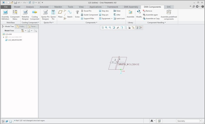 Design with PTC Creo Expert Moldbase Extension 10.0 F000 for Creo 2.0-4.0 x86 x64
