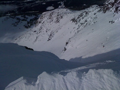 Couloir Extreme entrance cornice