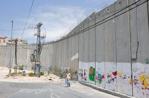 Apartheid Wall Up Close 1