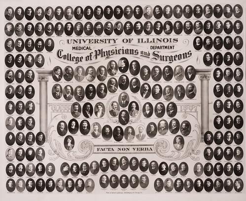 1907 graduating class, University of Illinois College of Medicine