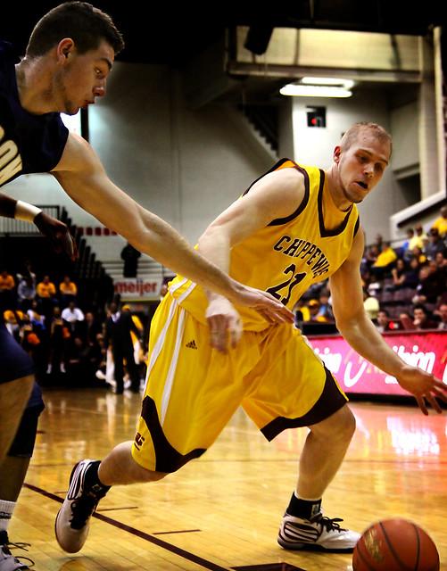 CMU Mens Basketball Vs. Akron 8 | Flickr - Photo Sharing!
