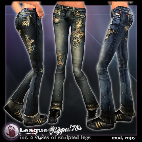 *League* Ripped 78s Womens