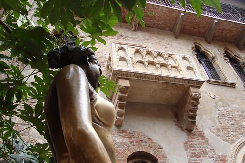 Juliet's balcony. Loving the Enemy