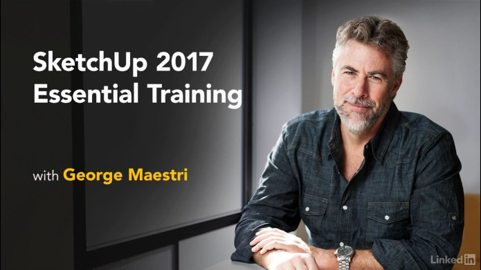 SketchUp 2017 Essential Training course