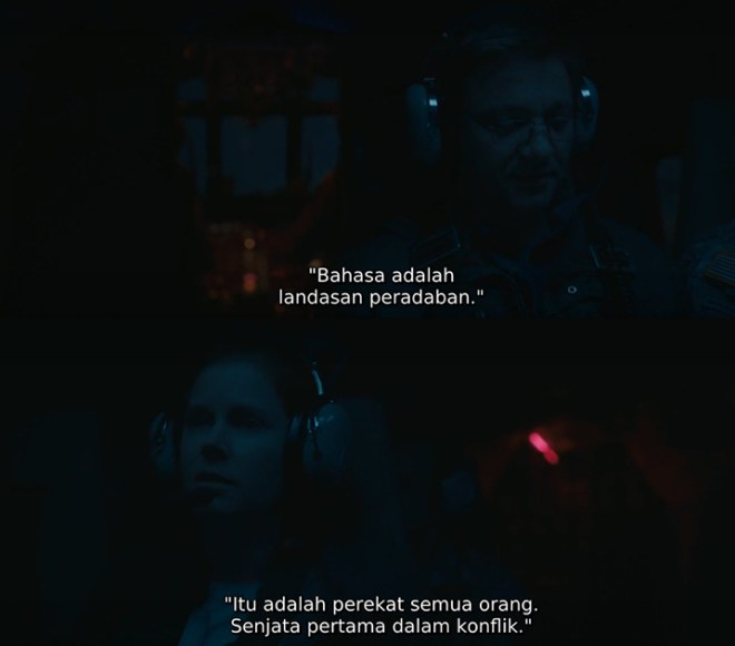 Kata Prof. Louis Banks (dalam The Arrival, 2016)
