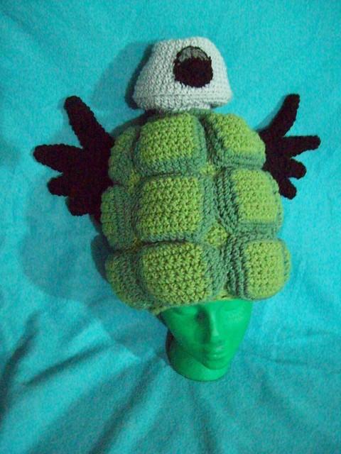 Grenade Hat front