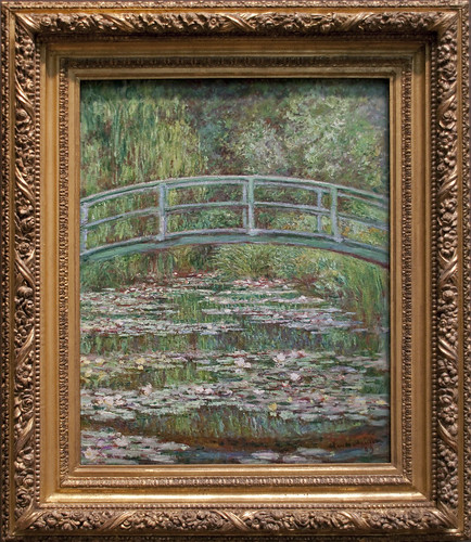Stagno delle ninfee ponte giapponese, Monet