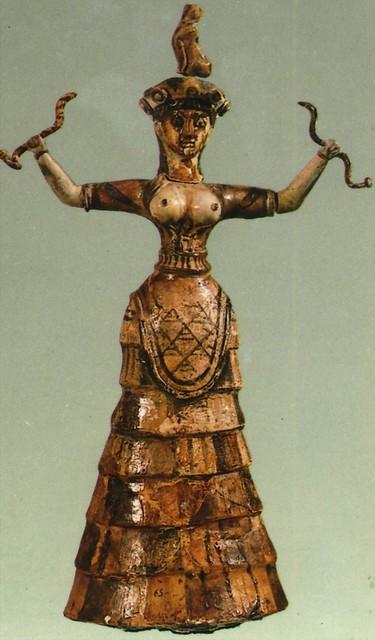 Snake Goddess 1600 BC