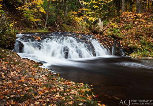 All About Fall - Greenstone Falls (Porcupine Mountains State Park - Upper Michigan)