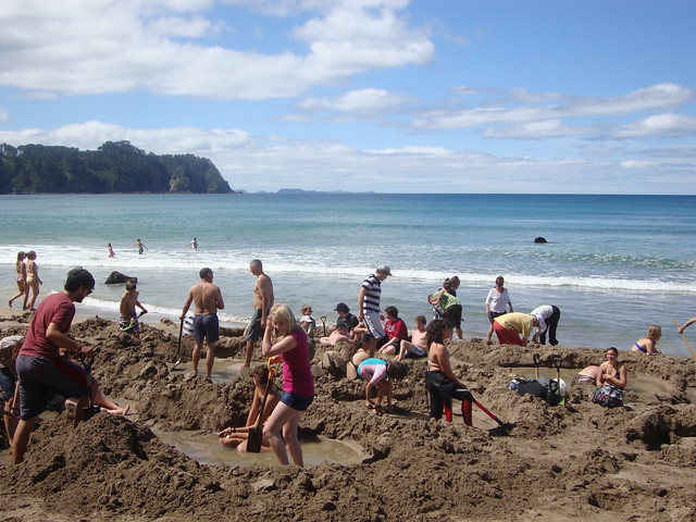 Hot Water Beach