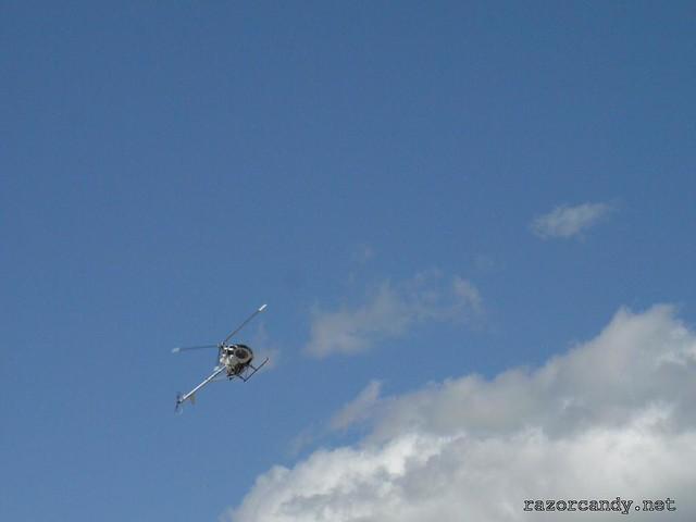 14 P1080656 Schweizer Helicopter {G-BWAV} _ City Airport - 2008 (5th July)