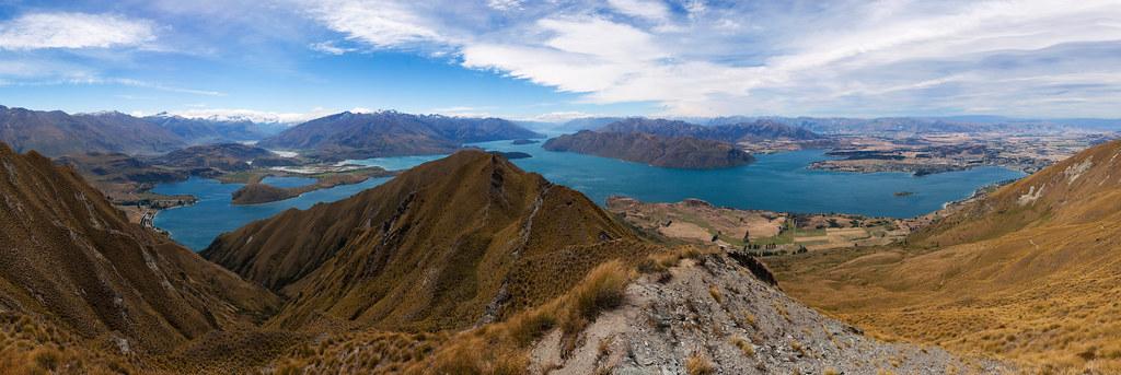 roy's peak panorama