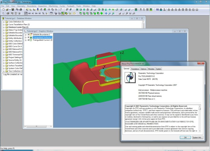 Design with PTC Pro-TOOLMAKER 9.0 M070 full