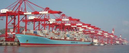 Anna Maersk in Harbor