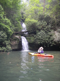 Alan at Wright Creek Falls