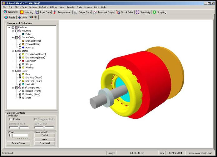 Design and working with Motor-CAD 7.4.7.1 32bit 64bit full