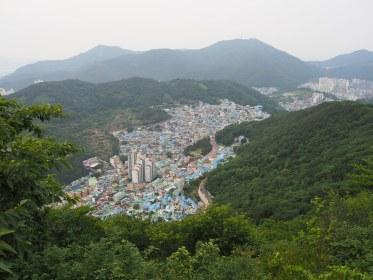 Gamcheon from Ceonmasan