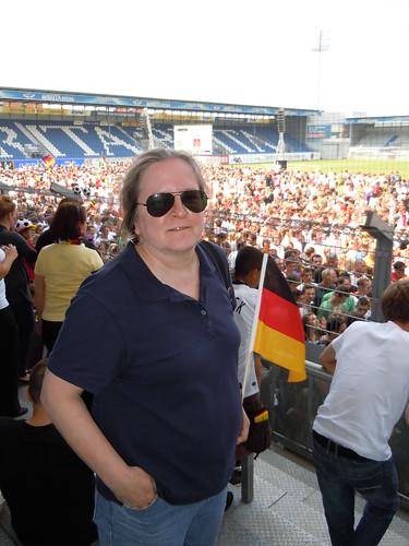 World Cup party at Brita Arena