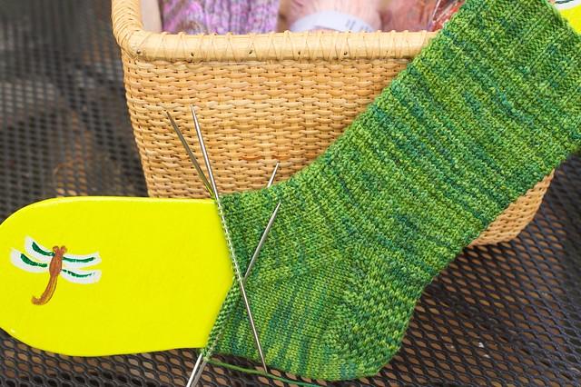 April Socks in June